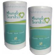 Papel Maiz Mundo Bombis para bebé 2 rollos ( de 200 hojas c/u)
