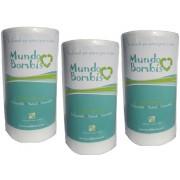 Papel Maiz Mundo Bombis para bebé 3 rollos ( de 200 hojas c/u)