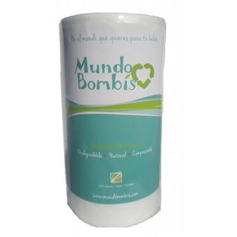 Papel Maiz Mundo Bombis para bebé (Rollo de 200 hojas)