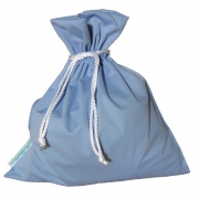 Sac a Couches impermeable Bleu MundoBombis